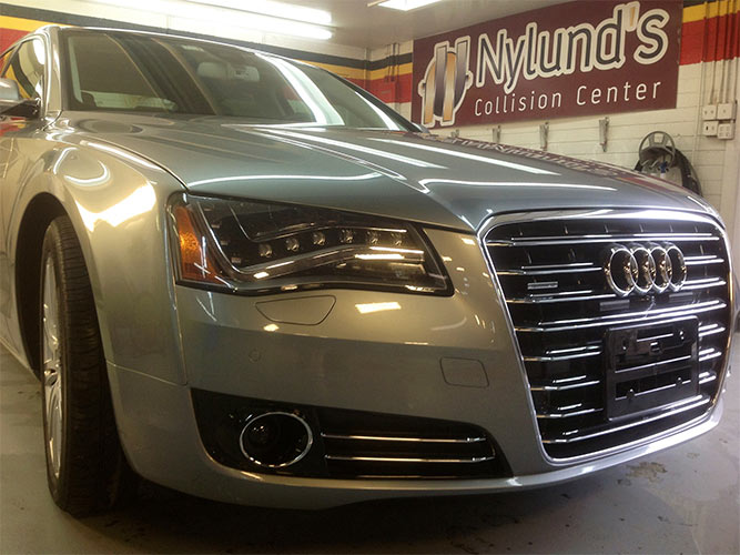 Nylunds Collision repairs Audi luxury models