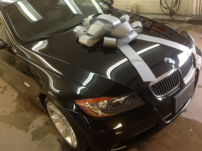 Nylunds Collision repairs BMW