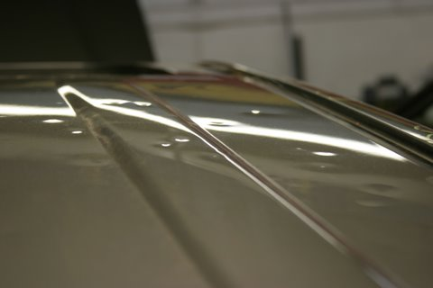 Nylunds Collision offers paintless dent repair