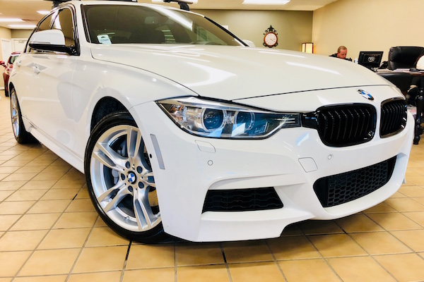 BMW repaired by Nylund's Collision Center Nylund's Photo Gallery