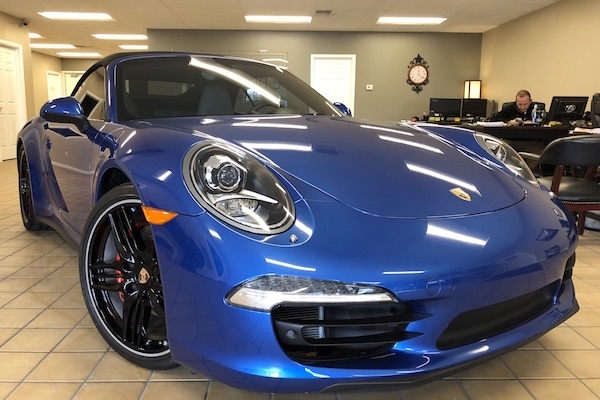 Porsche repaired by Nylund's Collision Center Nylund's Photo Gallery