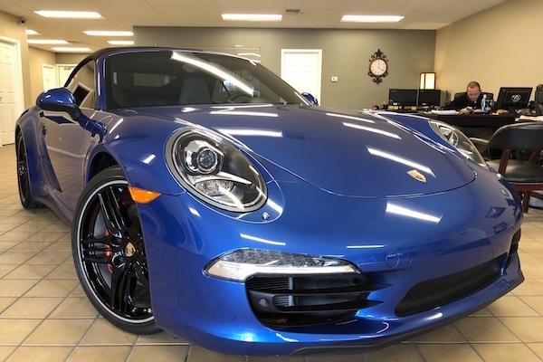 Porsche repaired by Nylund's Collision Center Nylund's Photo Gallery