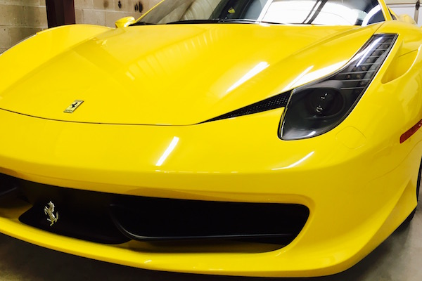 Ferrari repaired by Nylund's Collision Center Nylund's Photo Gallery