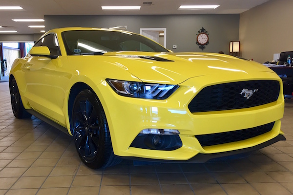 Ford Mustang repaired by Nylund's Collision Center Nylund's Photo Gallery