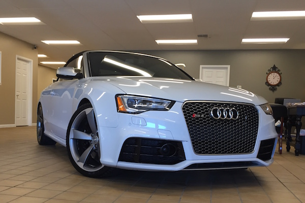 Audi repaired by Nylund's Collision Center Nylund's Photo Gallery