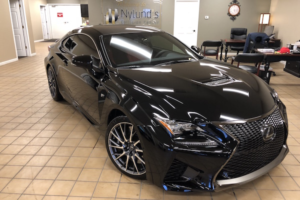 Lexus RC F Sport repaired by Nylund's Collision Center Nylund's Photo Gallery