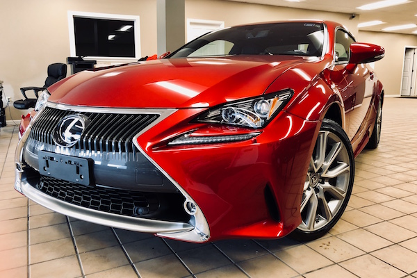 Lexus repaired by Nylund's Collision Center Nylund's Photo Gallery