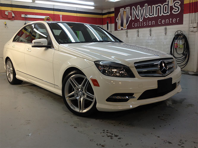 Nylund's can repair Mercedes