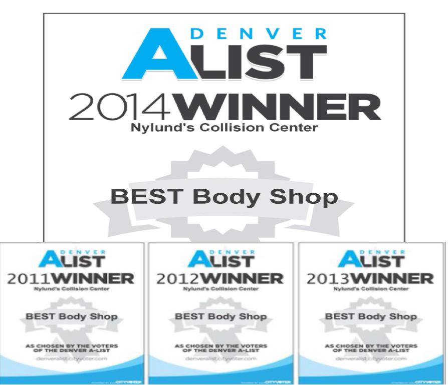 Nylund's Collision Center. Best Auto Repair Shop In Denver