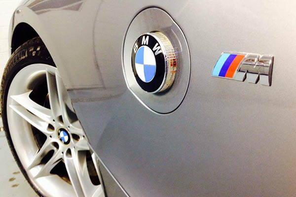 The 2007 BMW Z4 is looking brand new