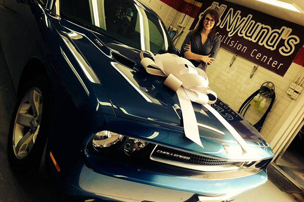 This 2010 Dodge Challenger is fully repaired!