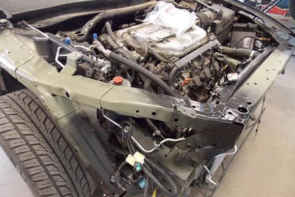 This 2009 Honda Accord needs engine work.