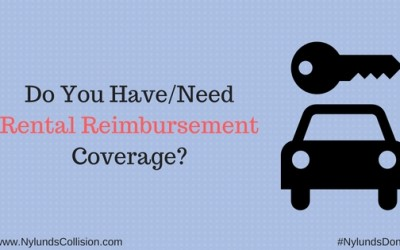 Rental Reimbursement Coverage
