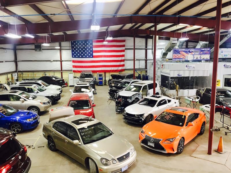 Lexus Body Shop Owns Denver Repair Category Nylunds Collision - Lexus repair shop