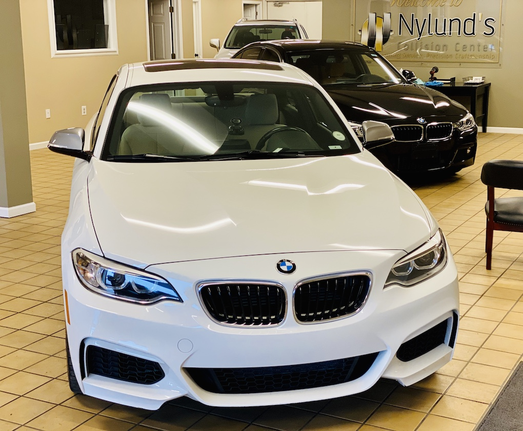 Nylunds Collision Repairs BMW luxury models