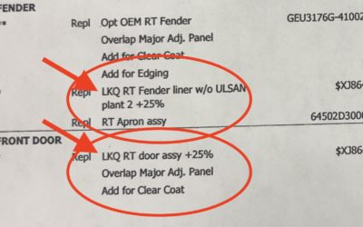 How to Read a Body Shop Estimate